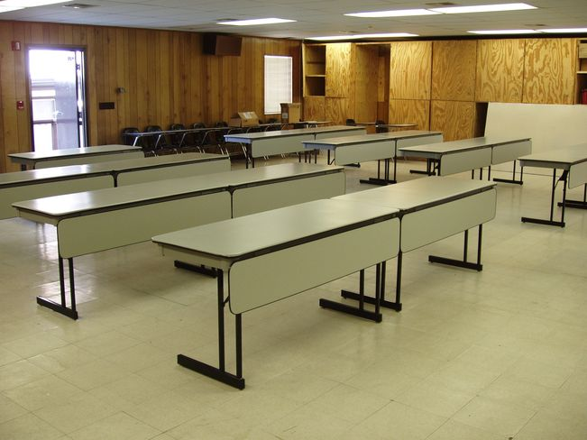 Modular Classroom Desks ~ School college desks excelsior furniture