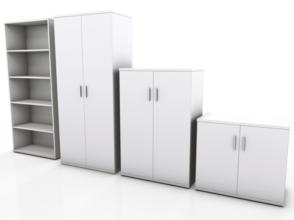 White Office Cabinet With Doors. Office Storage White Cabinet With Doors